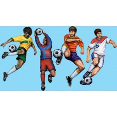 Soccer Cut Outs