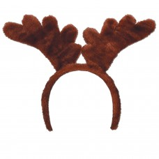 Deluxe Reindeer Antlers on Headband