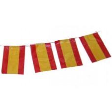 Flag Bunting - 4 metres - Spain