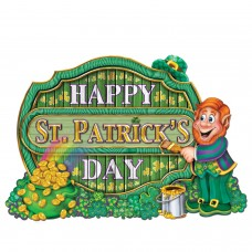 Happy St Patricks Day Sign