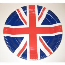 Union Jack Print Plates