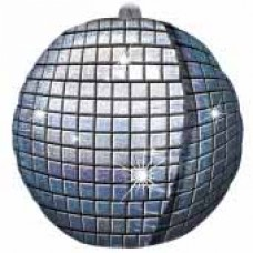 Foil Ultrashape Balloon - Disco Ball