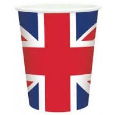 Union Jack Print Cups