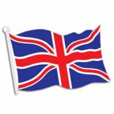Union Jack Flag Cut Out
