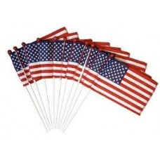 Hand Held Flags - USA