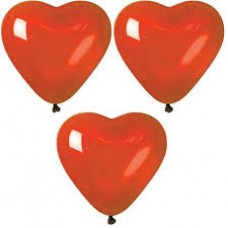 Heart Shaped Latex Balloons
