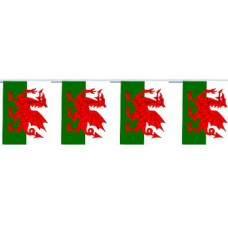 Flag Bunting - 4 metres - Wales