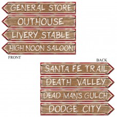 Western Sign Cut Outs