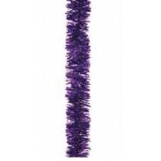 Chunky Cut Tinsel - Purple 2m