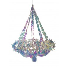 60cm Holographic Star Chandelier