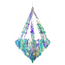 30cm Holographic Icicle Chandelier