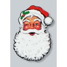 Santa Face Display Cut Out