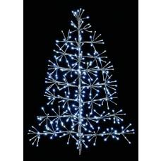 Silver Tree Starburst (60cm) - 44 Warm White LEDs