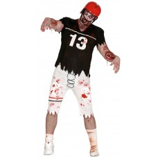 Zombie Rugby Player Costume