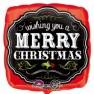 Wishing you a Merry Christmas Chalkboard